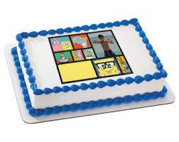 spongebob cake toppers spongebob cake etsy