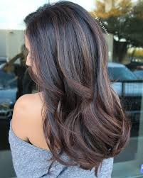 chocolate hair with platinum highlight pictures best 25 black highlights ideas on pinterest black hair with