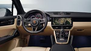 porsche suv interior 2017 2018 porsche cayenne revealed more like a 911 suv than ever
