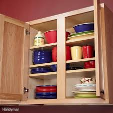 Kitchen Cabinet Shelf Organizer Kitchen Storage Cabinet Rollouts Family Handyman