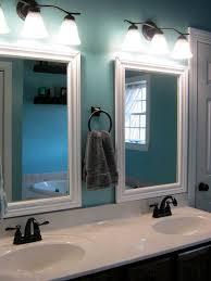 Framed Mirrors For Bathroom Vanities Framed Bathroom Vanity Mirrors Best 25 Ideas On Pinterest Large