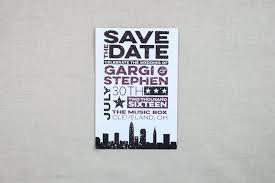 postcard save the date distressed rock concert ticket wedding save the date postcard