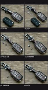 lexus ct200h f sport accessories leather car keychain key fob case cover for lexus is250 rx270