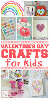 valentine u0027s candy heart easy craft for kids easy crafts 101