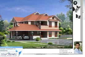 kerala house model seaside kerala home design