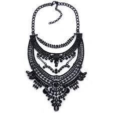 vintage crystal choker necklace images N689 exaggeration statement necklaces pendants vintage crystal jpg