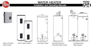 rheem electric water heater specs best electronic 2017