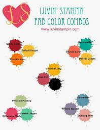 Colorcombinations 202 Best Stampin Up Color Combinations Images On Pinterest