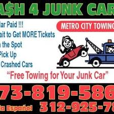 Tow Truck Business Cards Metro City Towing Closed Towing 1350 S Kostner Lawndale