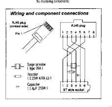 wiring schematic diagram guide cable table cable outs transceiver