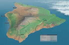 Molokai Map 3d Terrain Maps Clouds