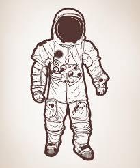 vinyl wall decal sticker astronaut os aa173