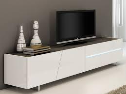 lacar muebles en blanco mueble tv iluminación 3 puertas 1 cajón blanco isaline ii