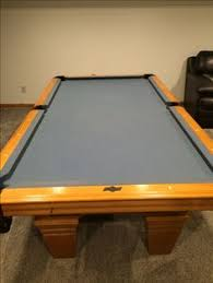 refelting a pool table a e schmidt billiards pool table 8 used pool tables for sale
