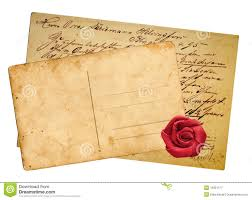 vintage postcards royalty free stock photography image 18351177