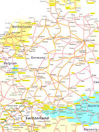 Map Of Switzerland And Germany by Map Of Switzerland Italy Germany And France Amazing Map Italy
