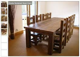Wood Dining Table Design Best 25 Chunky Dining Table Ideas On Pinterest Dining Room