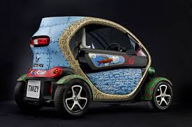 twizy renault art car renault twizy by jacque tange autoevolution
