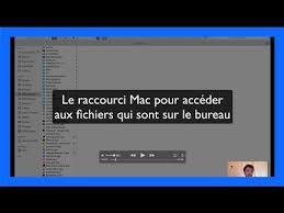 bureau pour mac shift command d le raccourci pour aller sur le bureau du mac
