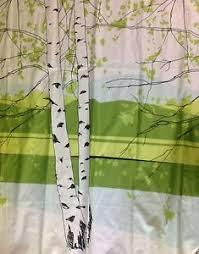 Marimekko Shower Curtains Anthropologie Kaiku Shower Curtain By Marimekko Birch Tree Pattern