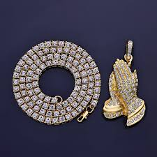 aliexpress buy nyuk new fashion american style gold aliexpress buy nyuk one row rhinestone chain necklace bling