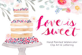 wedding cake clipart watercolor cake clipart photos graphics fonts themes templates