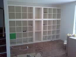 Wall Unit Bookshelves - using ikea wall units and bookshelf wall generva