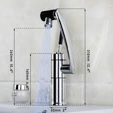 aliexpress com buy new kitchen faucet temperature sensor led