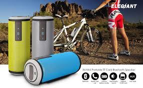 Noise Cancelling Backyard Speakers Bluetooth Speaker Elegiant Super Bass Outdoor Portable Speaker 4 0