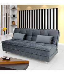 Cheapest Beds Online India Sunrise Sofa Bed Grey Buy Sunrise Sofa Bed Grey