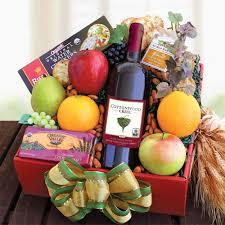 organic fruit gift baskets organic fruit wine shop s la baskets fruit gift