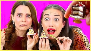 making the tiniest cake in the world w rosanna pansino youtube