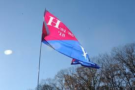 Harvard Flag Harvard Vs Yale Nov 21 2015 Harvard