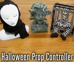 Homemade Animatronic Halloween Props by Control Your Halloween Decorations With Arduino 12 Steps With