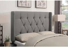 livia linen off white full queen upholstered headboard