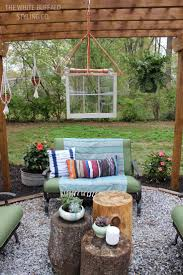 Outdoor Yard Decor Ideas Give Your Backyard Some Bohemian Flair