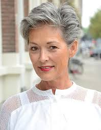 pictures of womens short dark hair with grey streaks best 25 natural white hair ideas on pinterest white hair