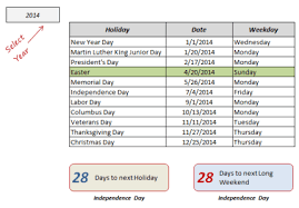 vacation schedule templates