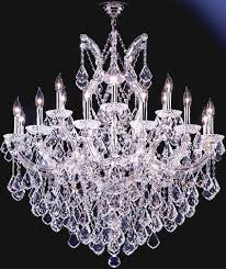 Moder Chandelier James R Moder 91790s22 Crystal Maria Theresa Grand Nineteen Light