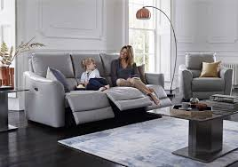 Leather Recliner Sofa 3 2 Trilogy 3 Seater Leather Recliner Sofa World Of Leather