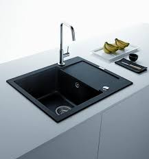black kitchen sinks countertops and faucets 25 ideas adding