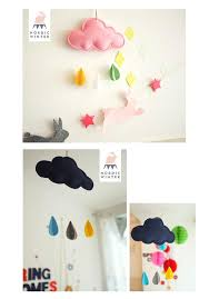 38x22cm diy cloud wall hangings crafts baby room decor handmade payment