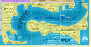 Switzerland World Map by It U0027s A Small World After All Big Think