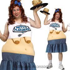 ca67 patty u0027s flapjacks diner waitress funny food halloween costume