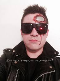Halloween Costumes Makeup by Terminator 2 Judgment Day Halloween Costume Movie And Tv