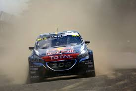 peugeot world rallycross double or quits for the peugeot 208 wrxs in argentina