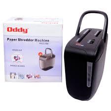 oddy level 3 u0026 8 sheets cross cut office paper shredder machine