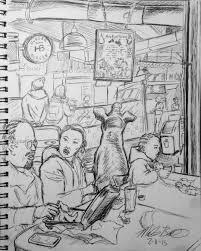 30 day sketch challenge 2015 michaelbencik