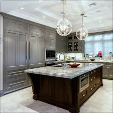 Gray Painted Kitchen Cabinets by Kitchen Blue Gray Cabinets Staining Kitchen Cabinets Darker Grey