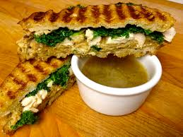 foodie journey thanksgiving leftover panini with turkey gravy